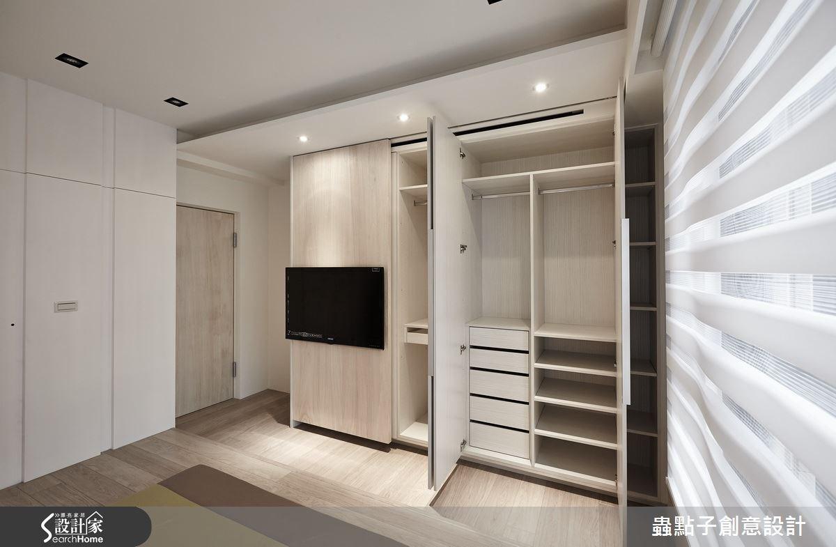 35坪新成屋(5年以下)_北歐風臥室案例圖片_蟲點子創意設計_蟲點子_32之39