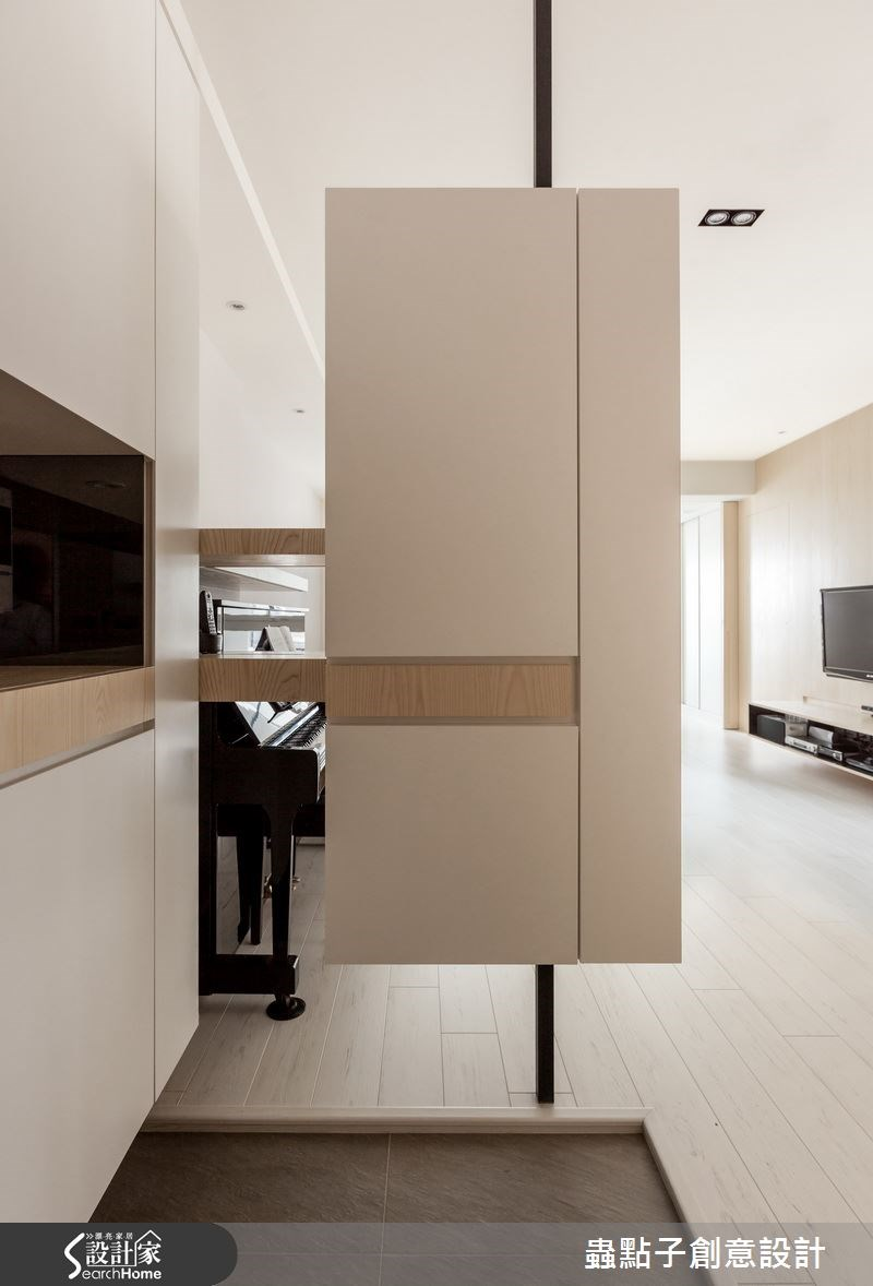 30坪新成屋(5年以下)_簡約風玄關案例圖片_蟲點子創意設計_蟲點子_33之1