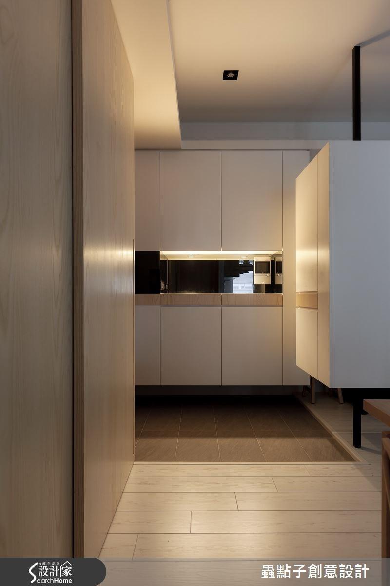 30坪新成屋(5年以下)_簡約風玄關案例圖片_蟲點子創意設計_蟲點子_33之4