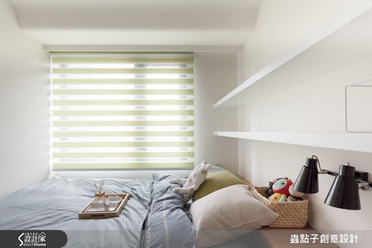 20坪新成屋(5年以下)_簡約風臥室案例圖片_蟲點子創意設計_蟲點子_36之23