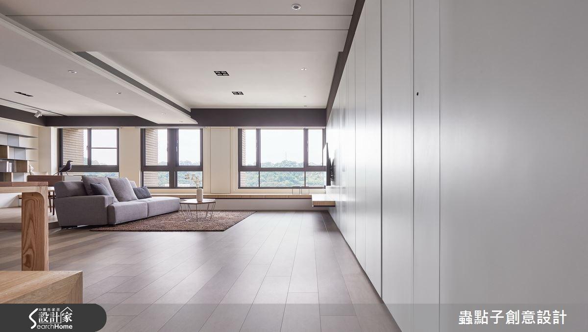 40坪新成屋(5年以下)_簡約風走廊案例圖片_蟲點子創意設計_蟲點子_38之4