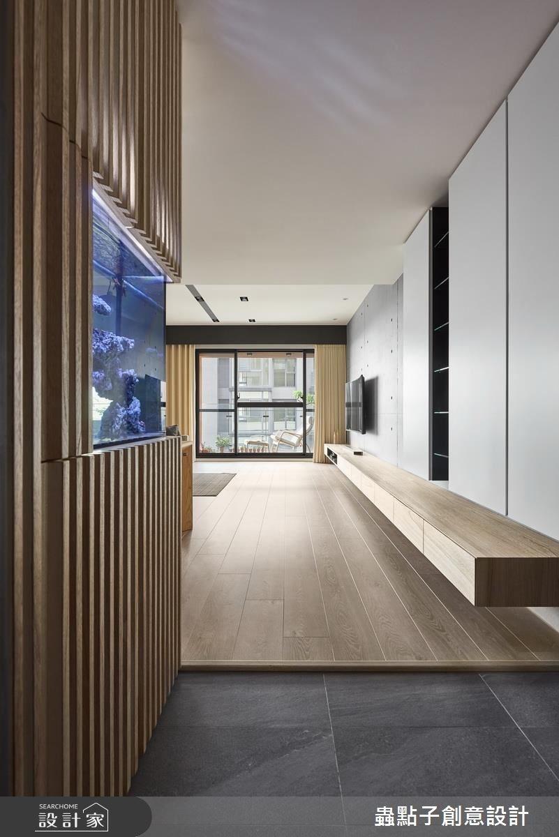 45坪新成屋(5年以下)_簡約風玄關案例圖片_蟲點子創意設計_蟲點子_49之1