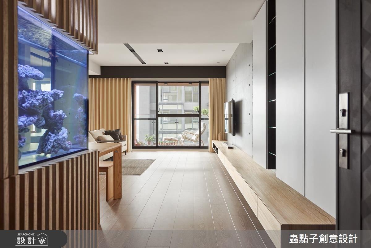 45坪新成屋(5年以下)_簡約風玄關案例圖片_蟲點子創意設計_蟲點子_49之2