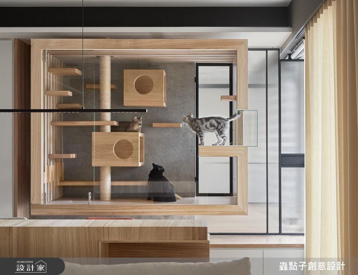 45坪新成屋(5年以下)_簡約風寵物案例圖片_蟲點子創意設計_蟲點子_49之23