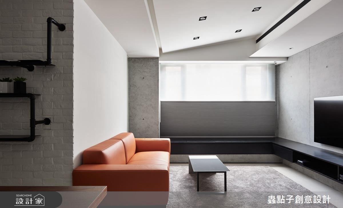 22坪老屋(16~30年)_簡約風客廳案例圖片_蟲點子創意設計_蟲點子_52之3
