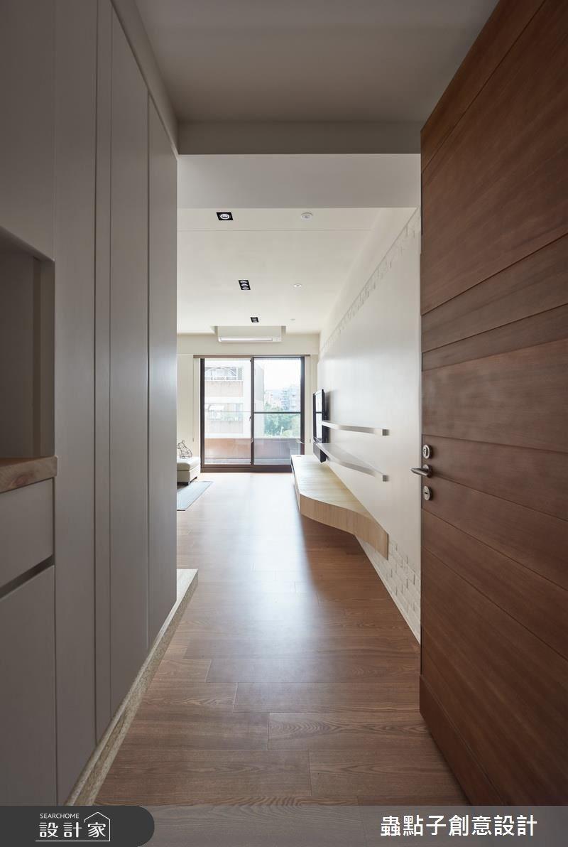 30坪新成屋(5年以下)_療癒風玄關案例圖片_蟲點子創意設計_蟲點子_53之1