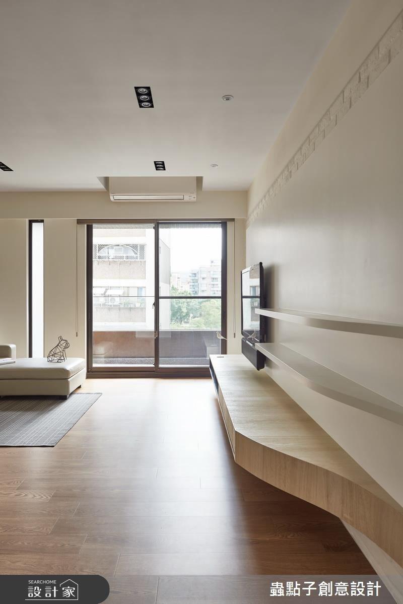 30坪新成屋(5年以下)_療癒風客廳案例圖片_蟲點子創意設計_蟲點子_53之2