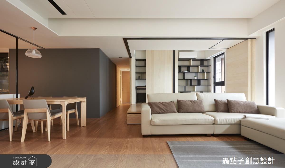 30坪新成屋(5年以下)_療癒風客廳案例圖片_蟲點子創意設計_蟲點子_53之3