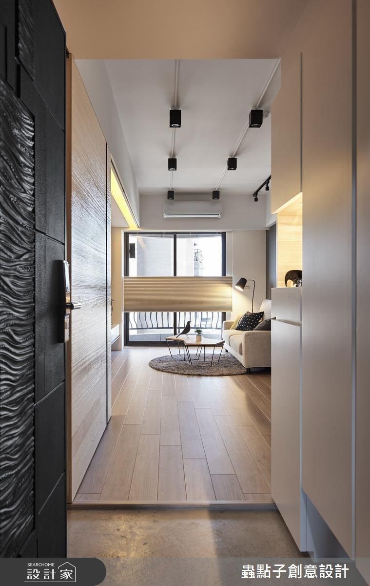 25坪新成屋(5年以下)_北歐風玄關案例圖片_蟲點子創意設計_蟲點子_54之1