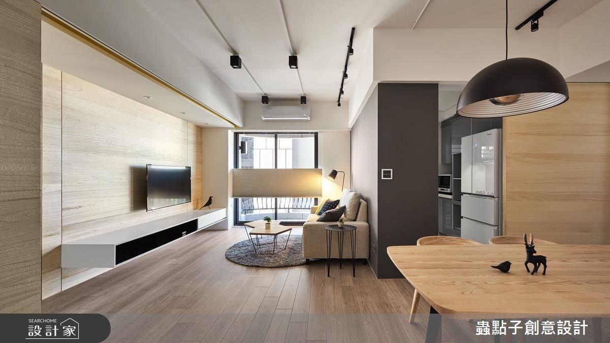 25坪新成屋(5年以下)_北歐風客廳案例圖片_蟲點子創意設計_蟲點子_54之3