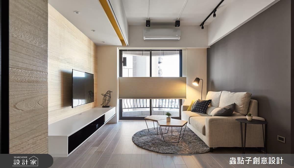 25坪新成屋(5年以下)_北歐風客廳案例圖片_蟲點子創意設計_蟲點子_54之4