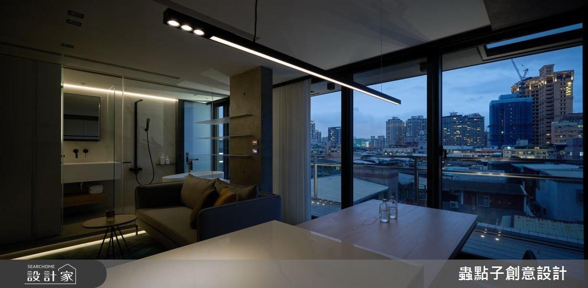 14坪新成屋(5年以下)_北歐風客廳吧檯案例圖片_蟲點子創意設計_蟲點子_55之49