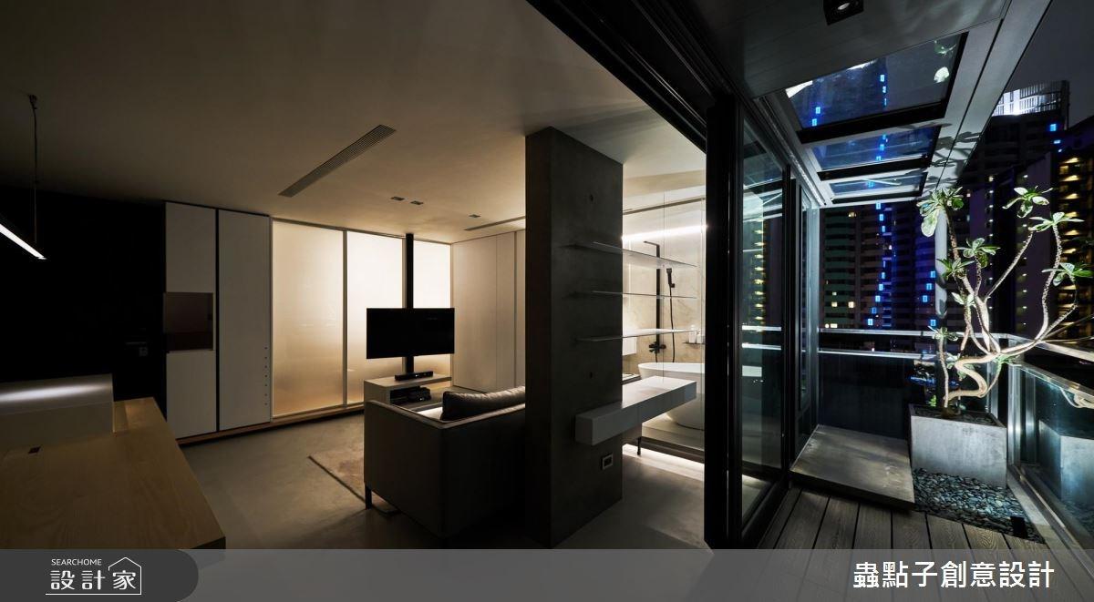 14坪新成屋(5年以下)_北歐風客廳陽台案例圖片_蟲點子創意設計_蟲點子_55之50