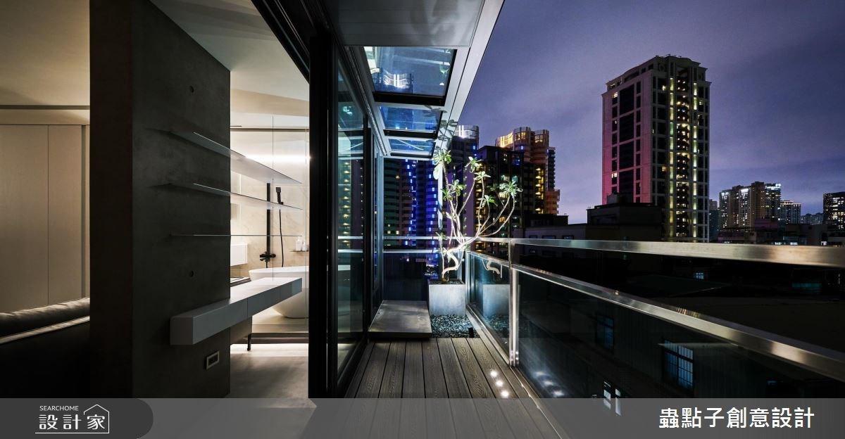 14坪新成屋(5年以下)_北歐風陽台案例圖片_蟲點子創意設計_蟲點子_55之56
