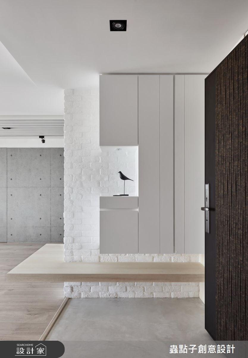 34坪新成屋(5年以下)_北歐風玄關案例圖片_蟲點子創意設計_蟲點子_56之1