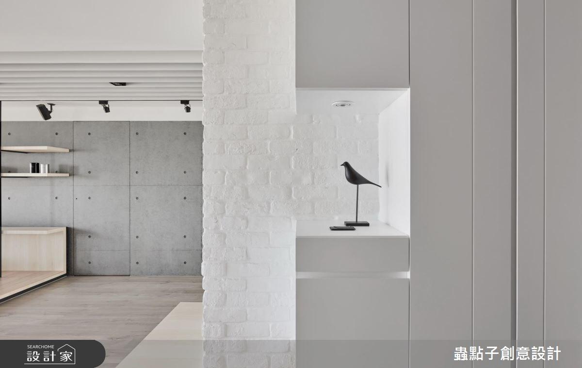 34坪新成屋(5年以下)_北歐風玄關案例圖片_蟲點子創意設計_蟲點子_56之2