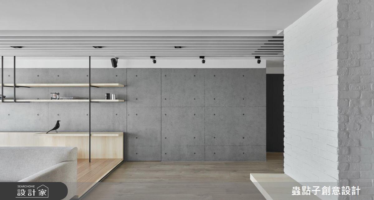 34坪新成屋(5年以下)_北歐風客廳案例圖片_蟲點子創意設計_蟲點子_56之3