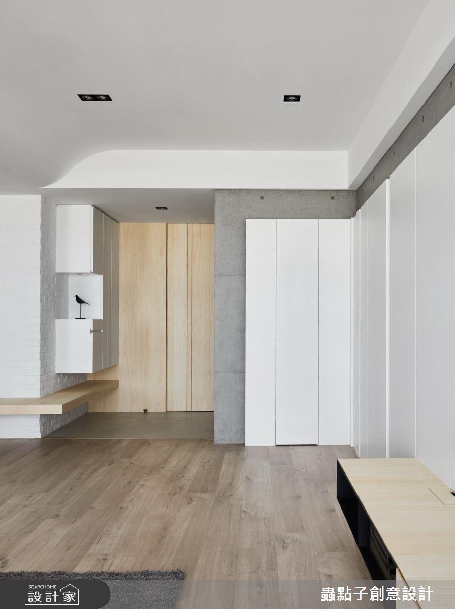 34坪新成屋(5年以下)_北歐風玄關案例圖片_蟲點子創意設計_蟲點子_56之4