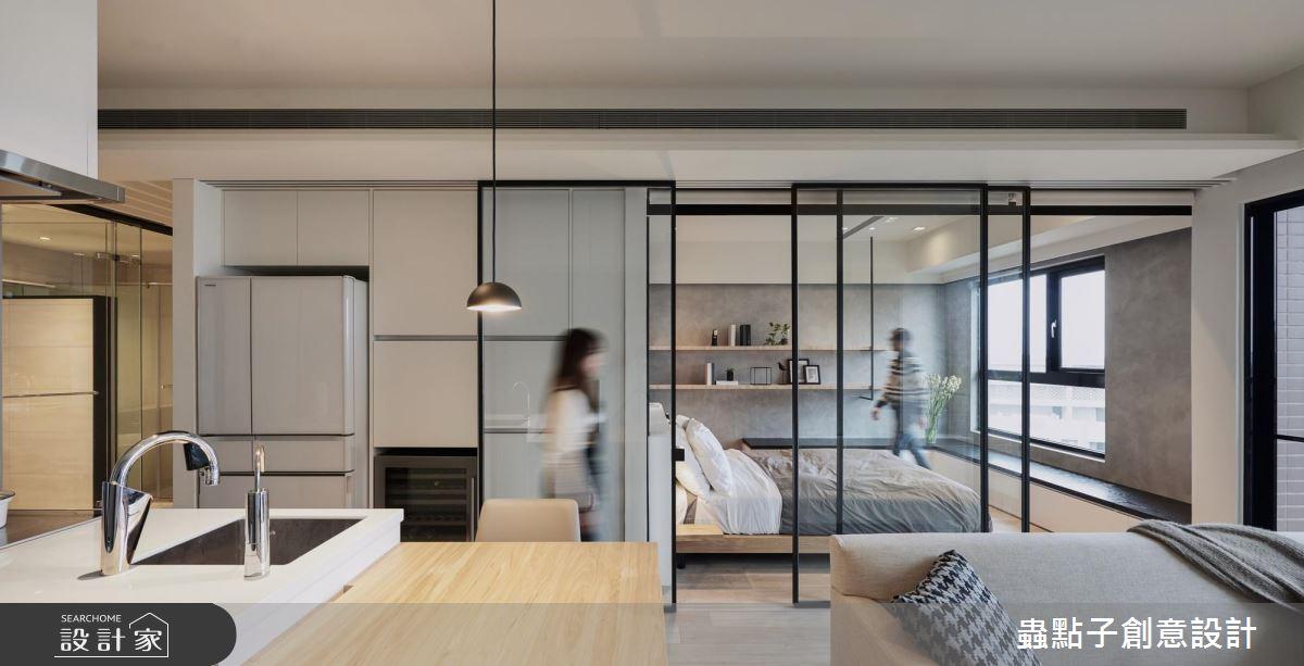 單身質感男最推!淨透明亮的飯店基因 讓小宅倍感寬闊感