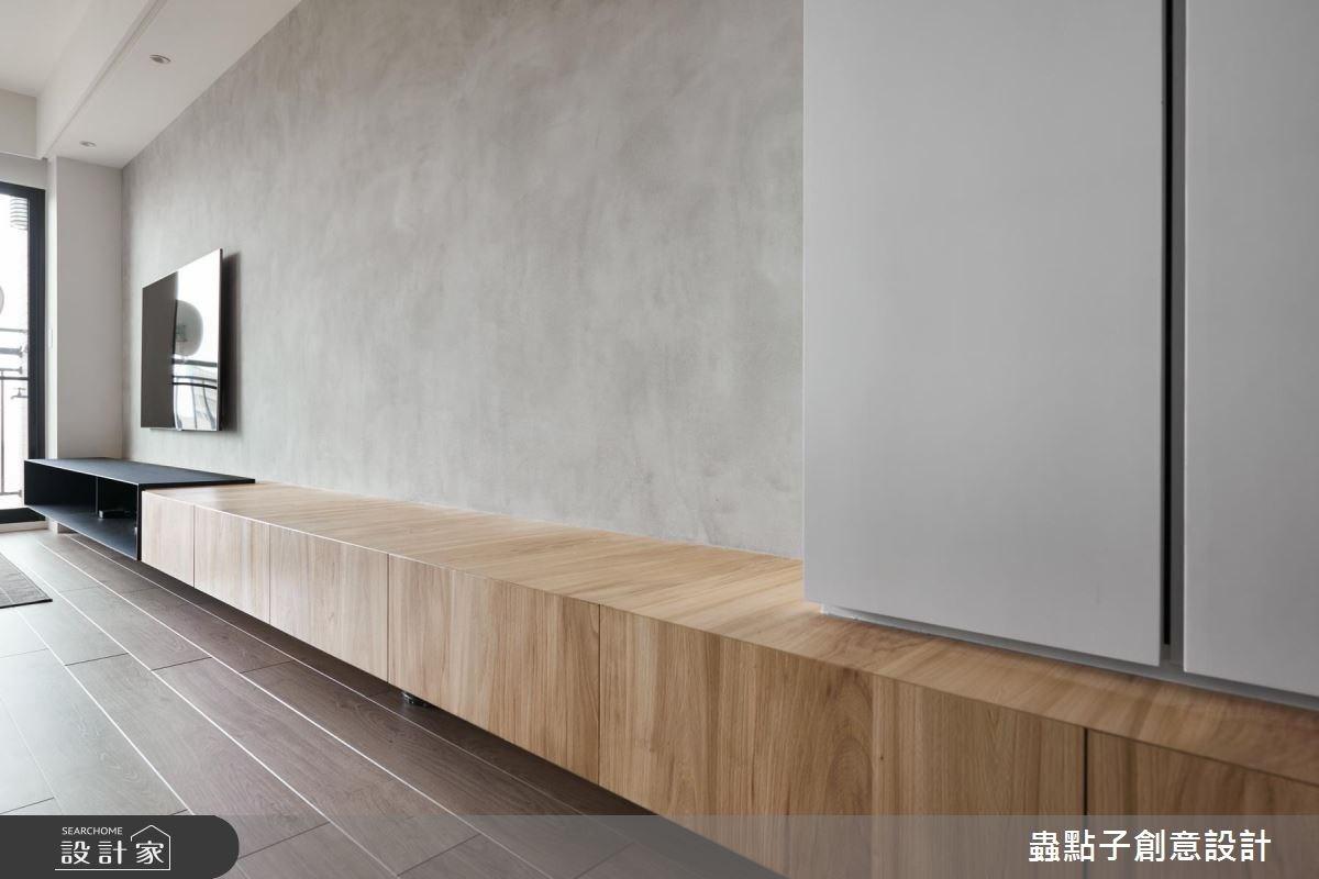 18坪新成屋(5年以下)_簡約風客廳案例圖片_蟲點子創意設計_蟲點子_57之3