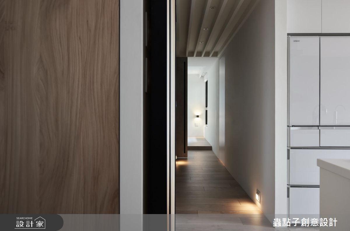 18坪新成屋(5年以下)_簡約風走廊案例圖片_蟲點子創意設計_蟲點子_57之14