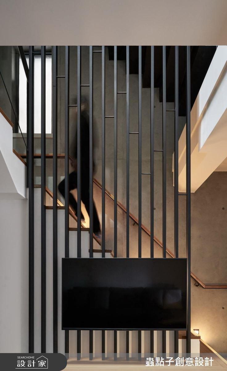 45坪老屋(16~30年)_簡約風樓梯案例圖片_蟲點子創意設計_蟲點子_59之2