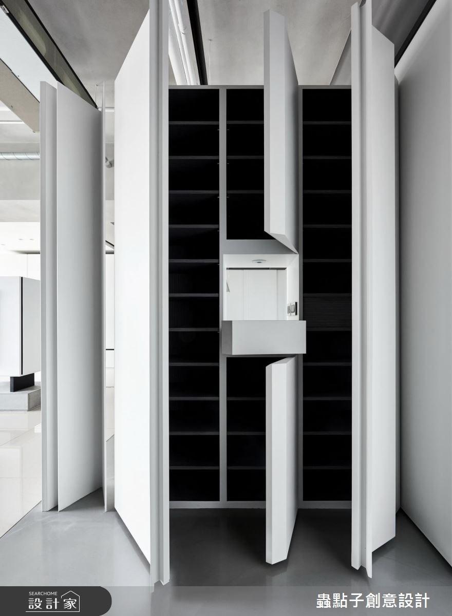 40坪新成屋(5年以下)_簡約風玄關案例圖片_蟲點子創意設計_蟲點子_60之4