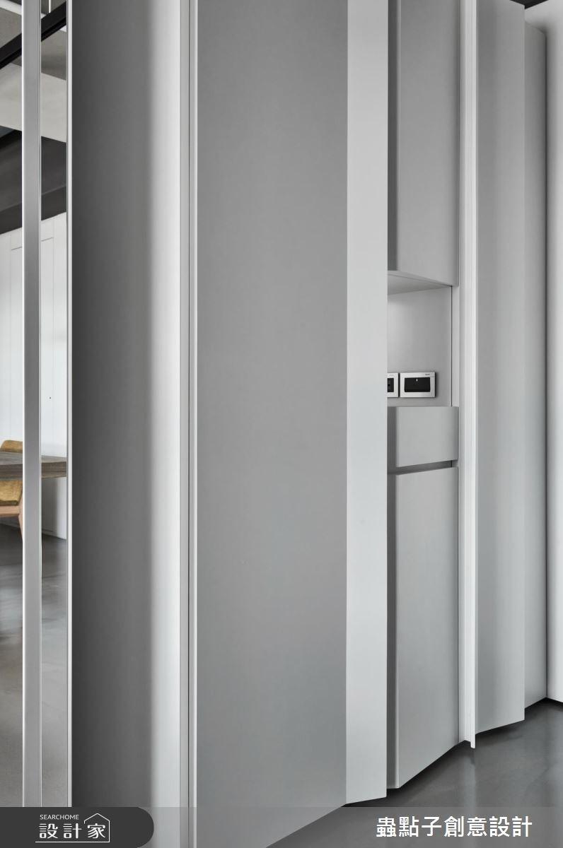40坪新成屋(5年以下)_簡約風玄關案例圖片_蟲點子創意設計_蟲點子_60之5