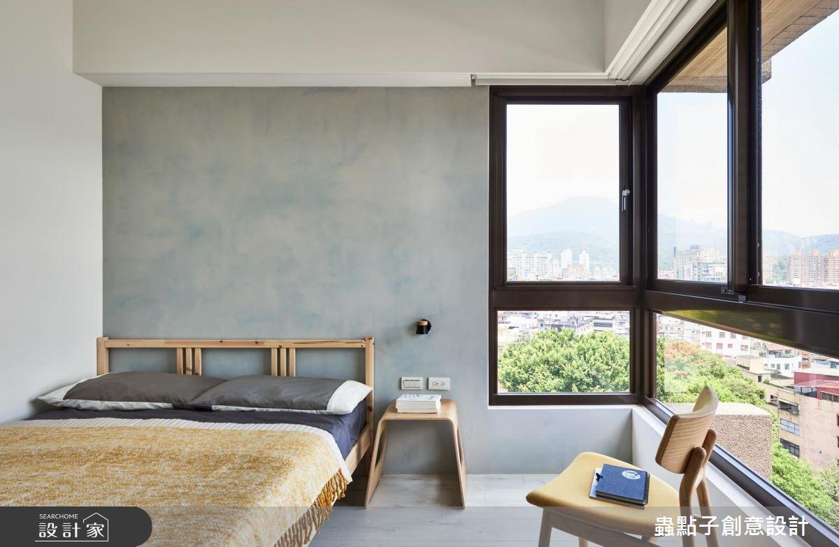 30坪中古屋(5~15年)_北歐風臥室客房案例圖片_蟲點子創意設計_蟲點子_66之27