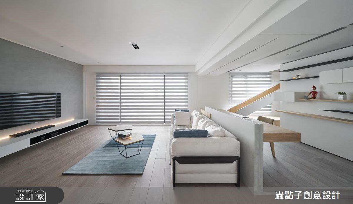 40坪新成屋(5年以下)_北歐風客廳案例圖片_蟲點子創意設計_蟲點子_70之2