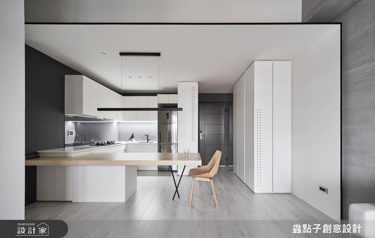 20坪新成屋(5年以下)_簡約風餐廳案例圖片_蟲點子創意設計_蟲點子_76之1