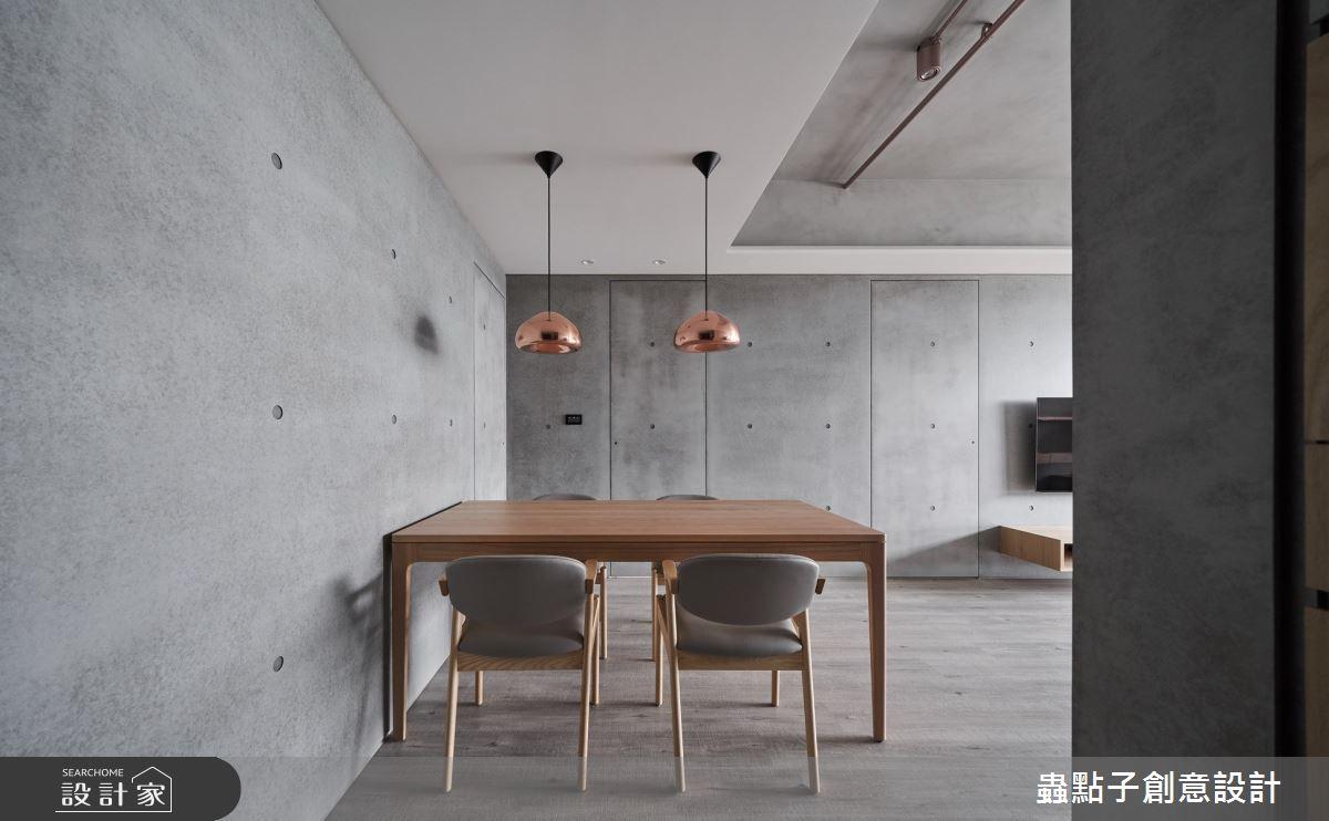 24坪新成屋(5年以下)_簡約風餐廳案例圖片_蟲點子創意設計_蟲點子_81之4