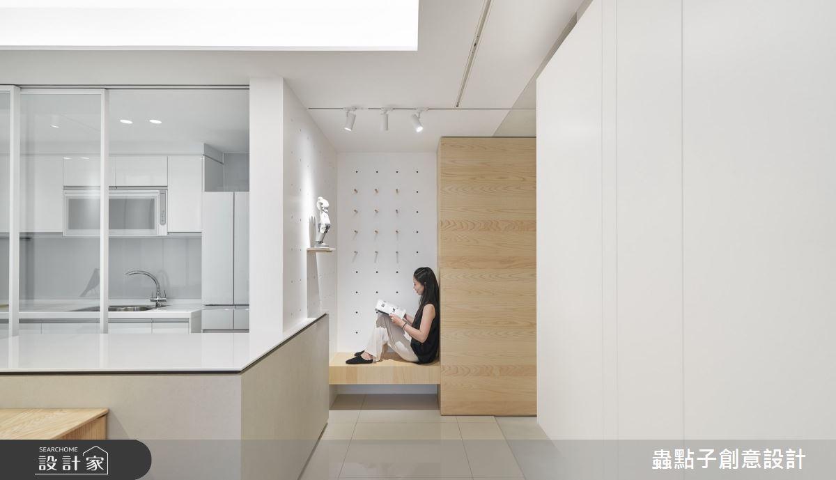 28坪新成屋(5年以下)_簡約風玄關案例圖片_蟲點子創意設計_蟲點子_84之3
