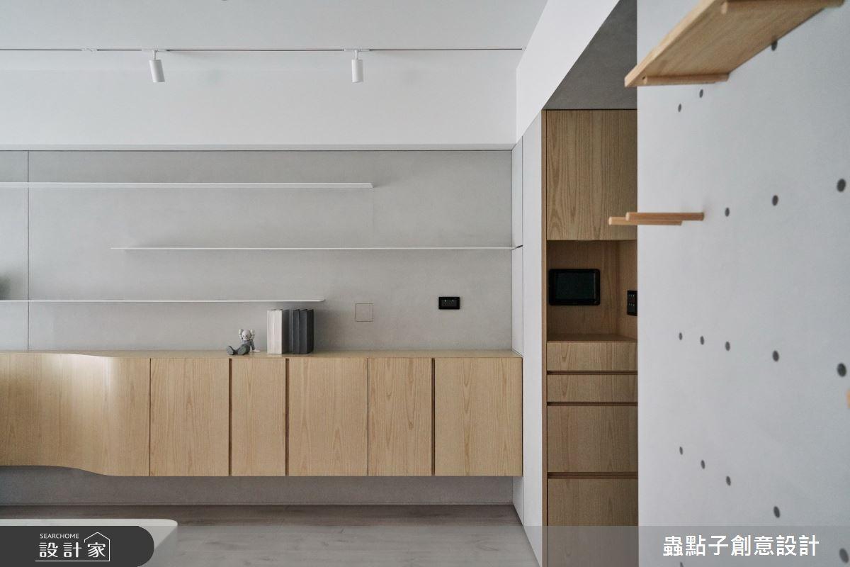 24坪新成屋(5年以下)_簡約風玄關案例圖片_蟲點子創意設計_蟲點子_86之2