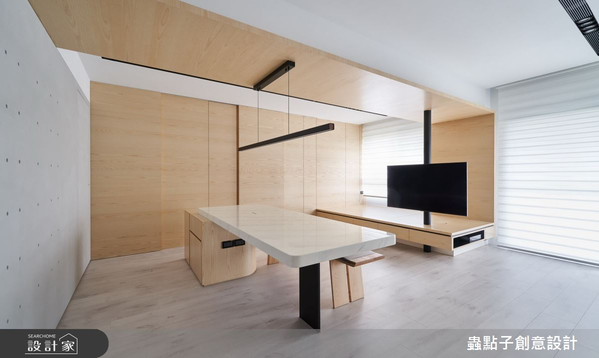 24坪新成屋(5年以下)_簡約風餐廳案例圖片_蟲點子創意設計_蟲點子_86之5