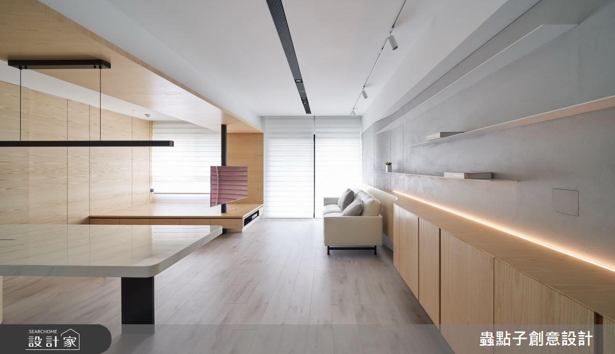 24坪新成屋(5年以下)_簡約風客廳和室案例圖片_蟲點子創意設計_蟲點子_86之4