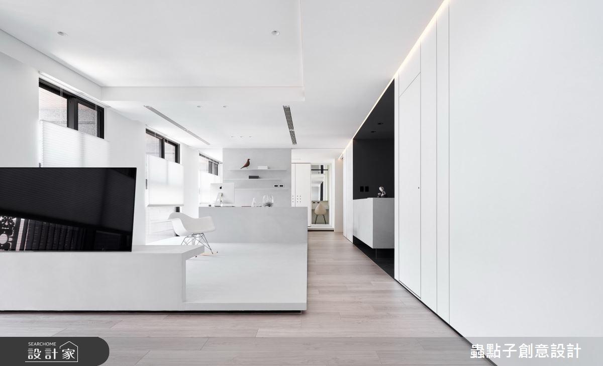 24坪新成屋(5年以下)_簡約風客廳案例圖片_蟲點子創意設計_蟲點子_88之3