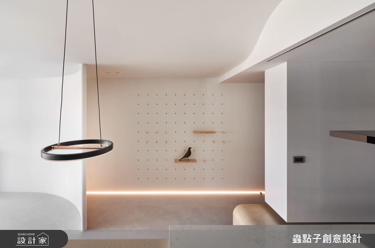 40坪新成屋(5年以下)_簡約風玄關案例圖片_蟲點子創意設計_蟲點子_92之5