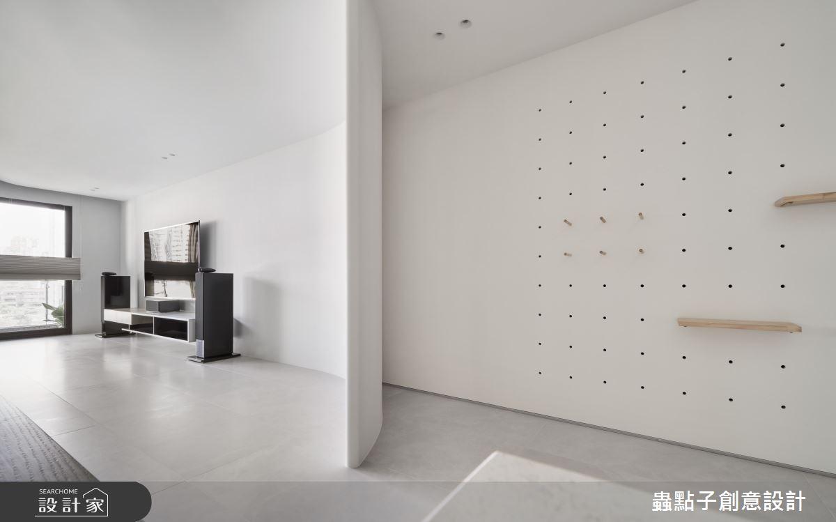 40坪新成屋(5年以下)_簡約風玄關案例圖片_蟲點子創意設計_蟲點子_92之4
