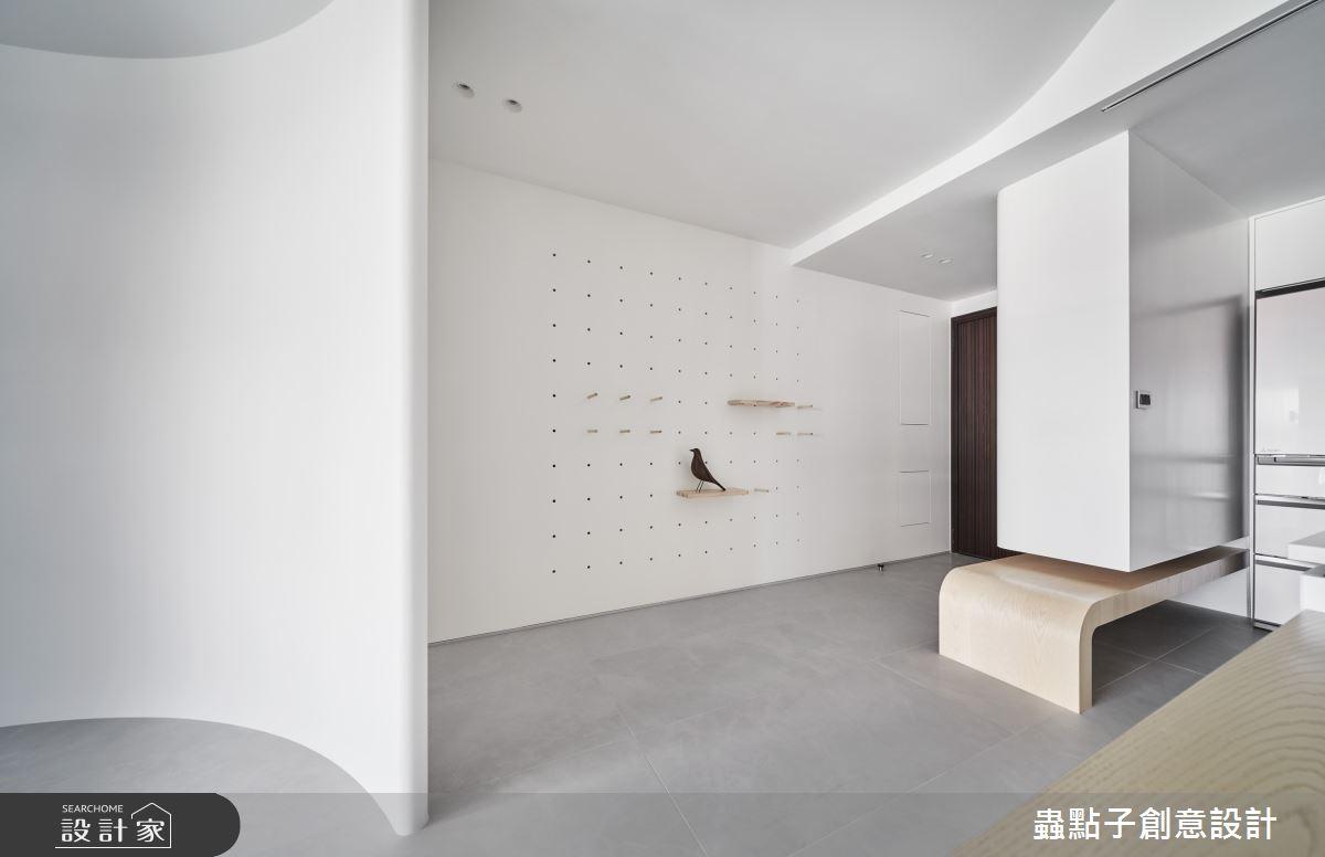 40坪新成屋(5年以下)_簡約風玄關案例圖片_蟲點子創意設計_蟲點子_92之2