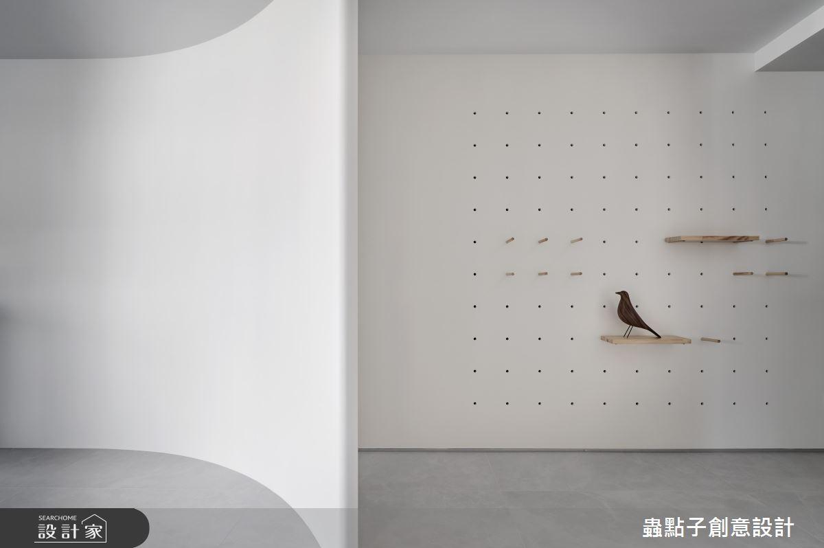 40坪新成屋(5年以下)_簡約風玄關案例圖片_蟲點子創意設計_蟲點子_92之3