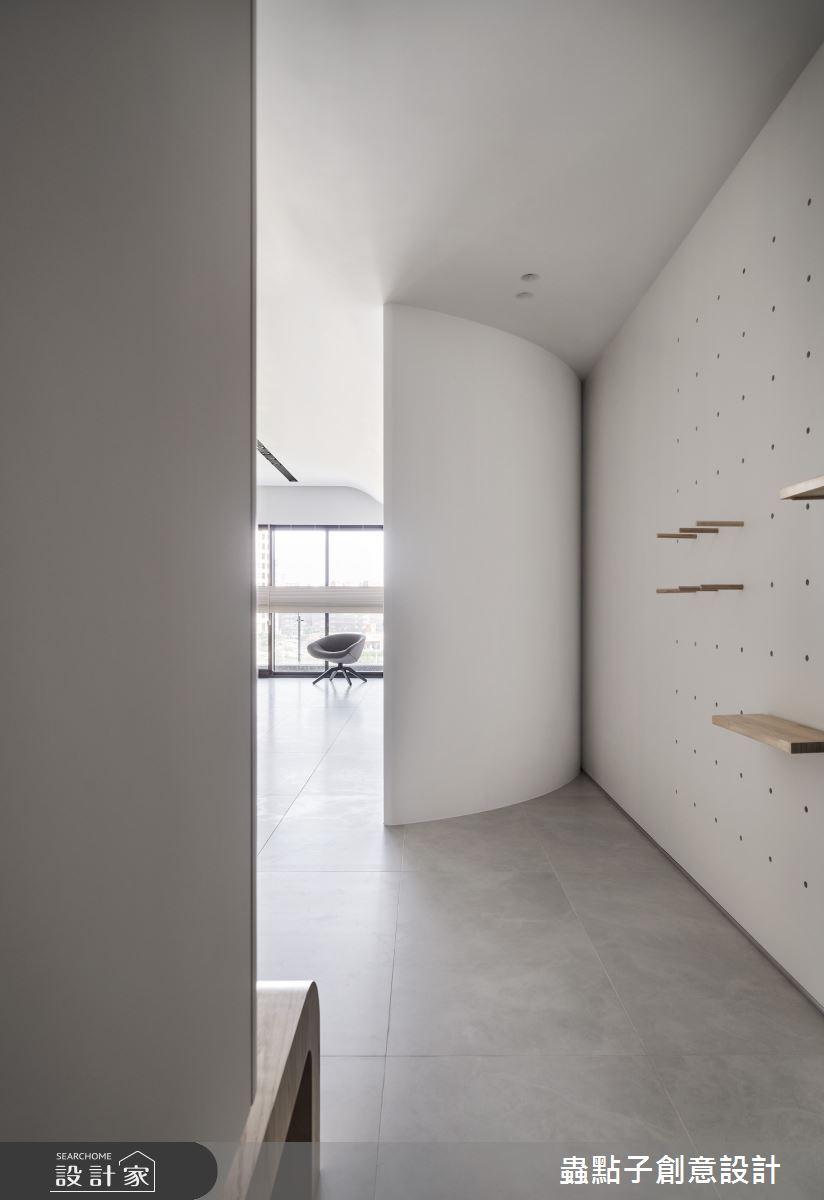 40坪新成屋(5年以下)_簡約風玄關案例圖片_蟲點子創意設計_蟲點子_92之1
