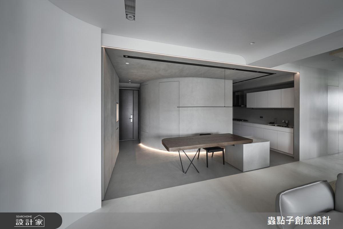 35坪新成屋(5年以下)_簡約風案例圖片_蟲點子創意設計_蟲點子_94之3