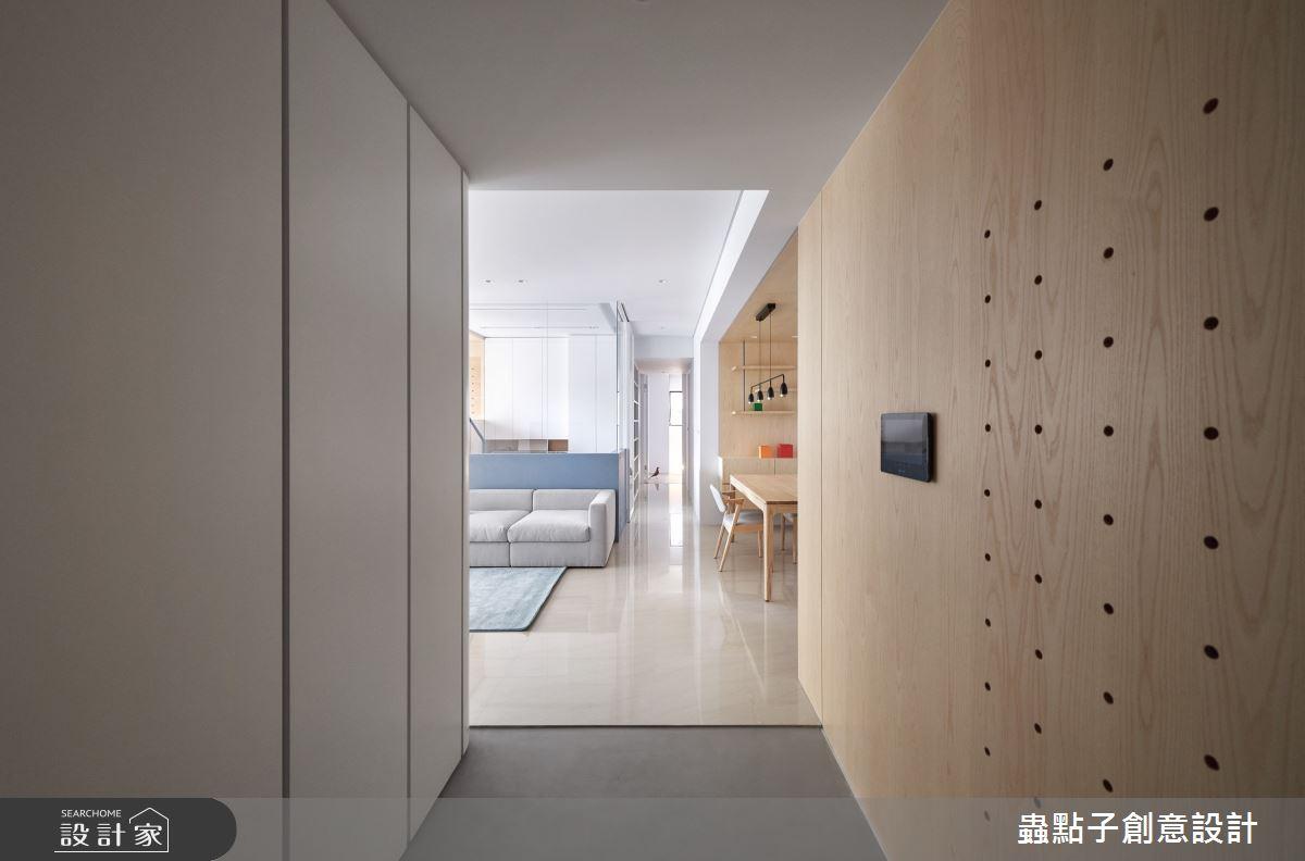 26坪新成屋(5年以下)_簡約風玄關案例圖片_蟲點子創意設計_蟲點子_96之1