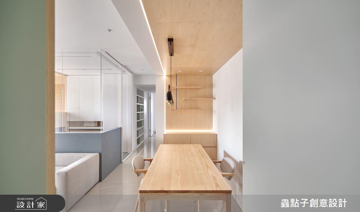 26坪新成屋(5年以下)_簡約風餐廳案例圖片_蟲點子創意設計_蟲點子_96之14