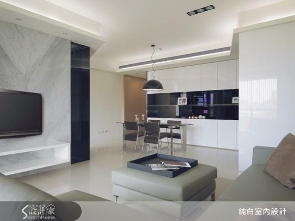 45坪新成屋(5年以下)_現代風案例圖片_純白室內設計_純白_06之1