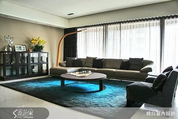 100坪新成屋(5年以下)_休閒風案例圖片_純白室內設計_純白_08之3