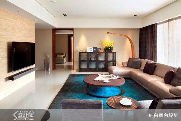 100坪新成屋(5年以下)_休閒風案例圖片_純白室內設計_純白_08之2