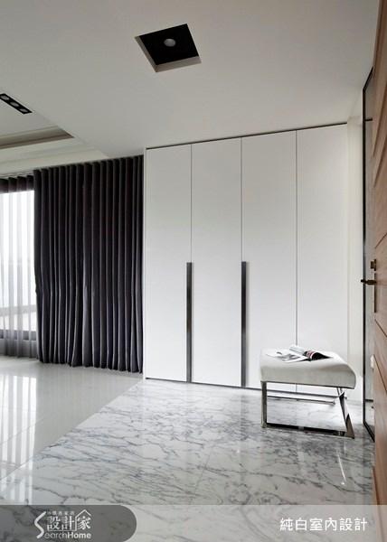 100坪新成屋(5年以下)_現代風案例圖片_純白室內設計_純白_09之3