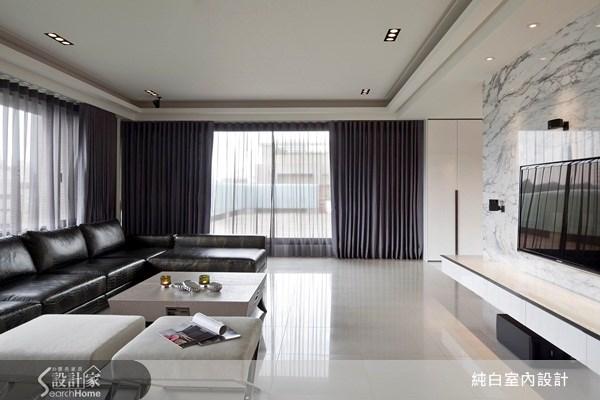 100坪新成屋(5年以下)_現代風案例圖片_純白室內設計_純白_09之4